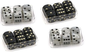 package of dice
