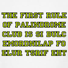 Palindrome Club
