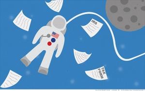 residents while in space would be subject to U.S. taxes