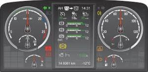 truck dashboard