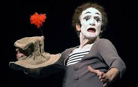 a mime