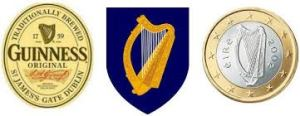 Harp national symbol of Ireland