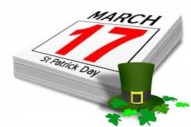 march 17 st patrick's day