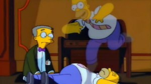 out of body experience simpsons