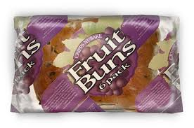 package of fruit buns