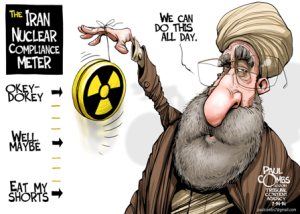 iran nuke deal cartoon