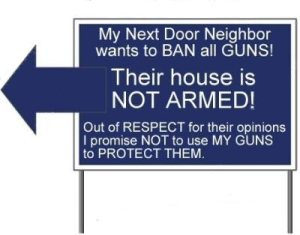 Neighbor Wants Guns Banned