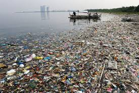 garbage is dumped into the world's ocean