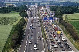 German autobahn traffic