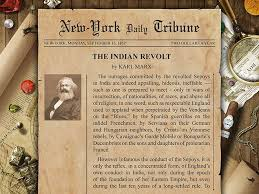 karl marx new york daily tribune