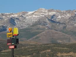 McDonald's sign Ruby Mountains Nevada