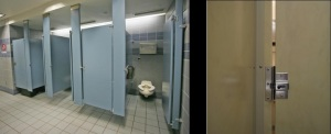 American toilets