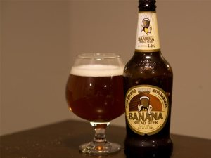 beer brewed from bananas