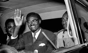 Congolese Prime Minister Patrice Lumumba