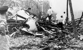 Dag Hammarskjöld plane shot down