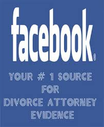 facebook divorce evidence