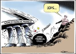 Greek financial crisis cartoon