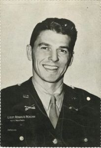 President Reagan Military Service