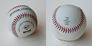 Baseball made in China