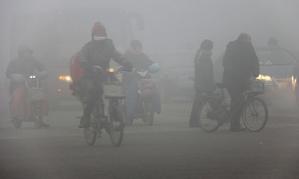 Breathing air in Beijing