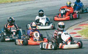 go kart race