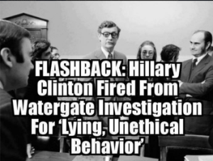 Hillary Clinton fired from Congressional job for unethical behaviorpng