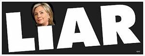 Hillary Clinton liar