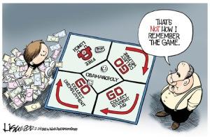 modern monopoly board