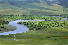 Mongolian river